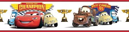 disney cars wallpaper border