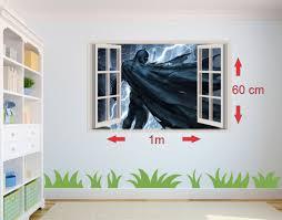 batman building removable window wall sticker