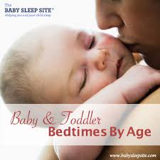 Baby And Toddler Bedtimes By Age A Reference Chart