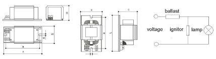 high pressure sodium ballast wiring diagram wiring diagram and 480 ballast wiring diagram car