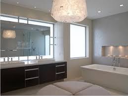 lighting behind mirror. Bathroom Mirror With Lights Behind Lighting Black Pattern Marble Sink Table Free Standing Soaking Bathtub Stainless