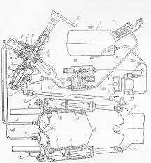 Рулевое управление трактора Т  Схема рулевого управления i тяга обратной связи ii рулевой механизм iii запорный клапан iv рулевая колонка v бак v7 распределитель