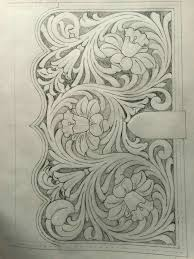 Leather Tooling Tracing Patterns