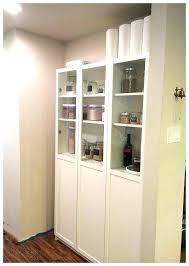 bookshelf door ikea bookshelf door glass