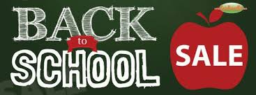 Image result for Back to school sale