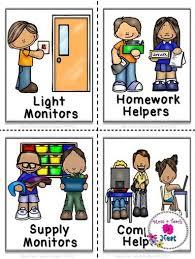 Classroom Helpers Pocket Chart Classroom Jobs Pocket Chart Labels Classroom Organization