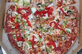 here is a pizza that i created using dominos calorie calculator
