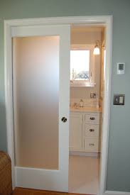 single closet doors. Furniture-small-and-narrow-modern-minimalist-bathroom-closet-design-with- Single-sliding-frosted-glass-door-with-wooden-frame-painted-with-white-color-ideas- Single Closet Doors I