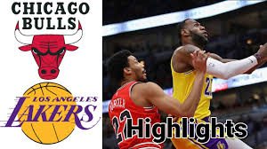 Bulls vs Lakers HIGHLIGHTS Full Game