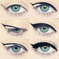 here s an easy way to purrfect a cat eye a friend who will find eyeliner trickshow