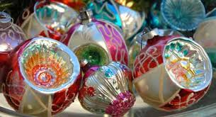 Serious collectors wait all year to break out their vintage Christmas tree  ornaments and other decorations