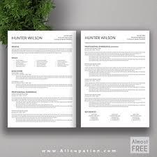 Photoshop Resume Template Free Free Download Free Modern Resume