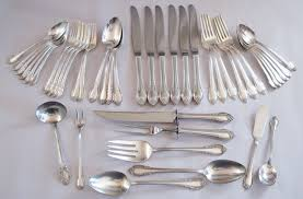 1847 Rogers Bros Silverware Patterns Impressive 48 Rogers Brothers Silver Flatware Sets Silver Chic Boutique
