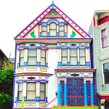 bright colorful home. And Some Homes Boast Multiple Exterior House Colors To Make A Bold Bright Presence. Colorful Home L