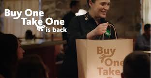 one take one is back starting at 12 99