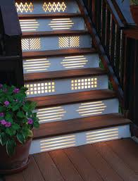 diy outdoor step lighting