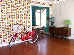 living room orla kiely multi: orla kiely wallpaper one of my favorite pattern designers i wish my living room