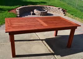 diy wood patio furniture. Stylish DIY Patio Table Ana White Beautiful Cedar Diy Projects Exterior Decor Concept Wood Furniture