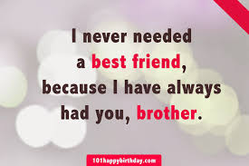 I Have The Best Brother In The World Quotes