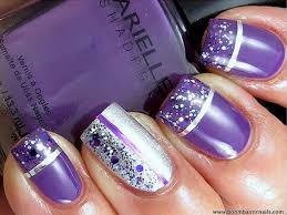 Decorative Nail Art Designs 100 Best Purple Nail Art Designs 44