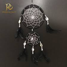 Cherokee Dream Catcher Awesome FC32 Double Rings Black Cherokee Indian Dream Catchers Feather