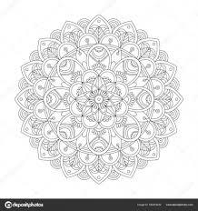 Mandala Kleurplaat Voor Dejachthoorn