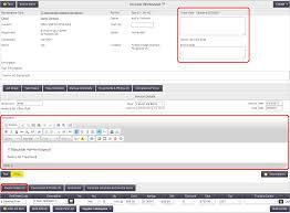 Office Invoice Edit Invoice Notes And Description Office Documentation Aroflo