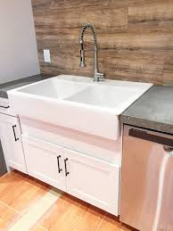 Farmhouse Sink Cabinet Base Retrofitting A Cabinet For A Farm House Sink Bower Power