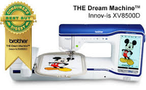 Brother Seminar XV8500D Dream 9.5x14