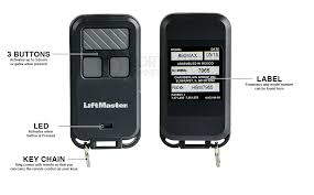 liftmaster 370lm security mini 3 on garage door opener remote control 315mh