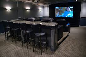 I need this row of bar seating Home Theater Pinterest Bar