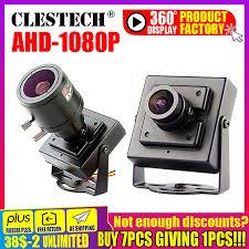 Siêu Nhỏ AHD MINI Camera Quan Sát Sony Imx 323 2MP 1080P Kim Loại Giám Sát  An Ninh Micro Giám Sát Video Vidicon Có Giá Đỡ|Surveillance Cameras
