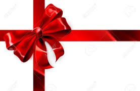Red Ribbon Design A Red Ribbon And Bow From A Christmas Birthday Or Other Gift