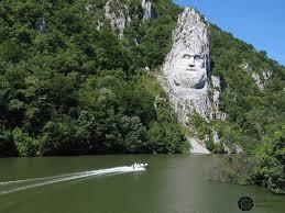 Rock Sculpture rock sculpture of decebalus at kazan gorge to be illuminated at 5009 by xevi.us