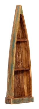 <b>Wooden Boat Cabinet 40x30x130</b> cm Solid Reclaimed Wood -