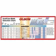 Olson Saw Company Ct62500 5in 16tpi Crown Tooth Scroll Saw Blade