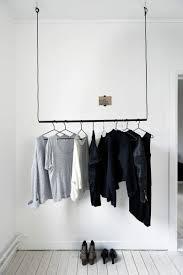 Selbstgebaute Kleiderständer Ersetzen Erfolgreich Den Kleiderschrank