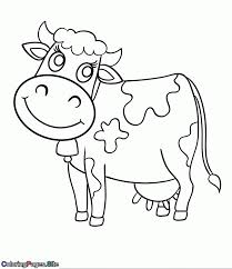 Coloring Pages Of Cows Cute Cow Pages Pinterest Coloring Pages
