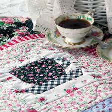 Tea Time at Nana's: Quick Fuse and Piece Teacup Quilt Pattern ... & Tea Time at Nana's: Quick Fuse and Piece Teacup Quilt Pattern Adamdwight.com