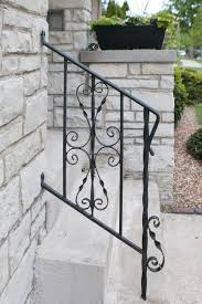 how to remove spirals on an old railing