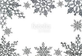 christmas snowflake border. Simple Snowflake Sillver Christmas Snowflake Border To E