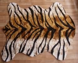 faux bengal tiger skin