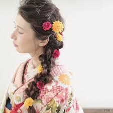 Hair Arrange 個性を生かす 和装 そんな時は サイドにおろすのも 素敵