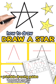 Click the paths tool tool, and draw a straight line in the document where you want the dotted line to appear. How To Draw A Star Step By Step Drawing Tutorial For The Easiest 5 Pointed Star Easy Peasy And Fun