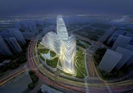 architectural buildings designs. Wangjing SOHO, By Zaha Hadid Architects, Is Planned For Beijing But  Being \ Architectural Buildings Designs