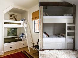 Bunk Beds For Small Rooms Sweetlooking Small Room Bunk Beds Space Solution  Built In For Kids