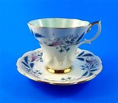 Decorative Cups And Saucers 60 best Purple Royal Albert Patterns images on Pinterest 37