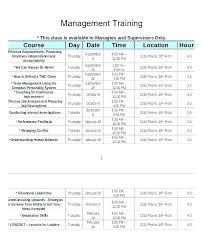New Employee Training Program Template Sample Staff Training Plan Template Program Company