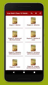 icse class 10 math selina publishers solutions screenshot 1