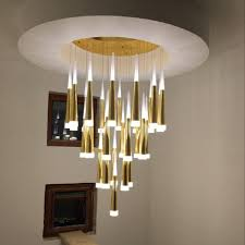 indoor stair lighting. Light Lamp Crystal Led Chandelier Lighting Villa Indoor Stair  Lights Fixtures Hotel Dining